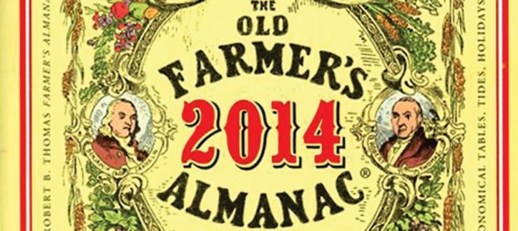 Old Farmer's Almanac 2014 Predictions